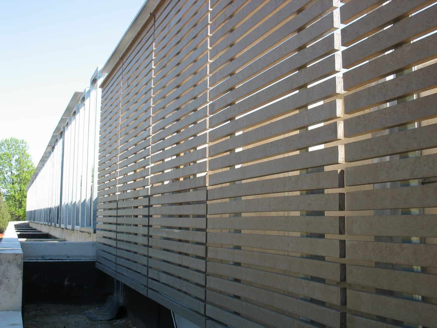 Bedford Technology's Plastic Lumber used in Park & Rec Industry (Retaining Walls)