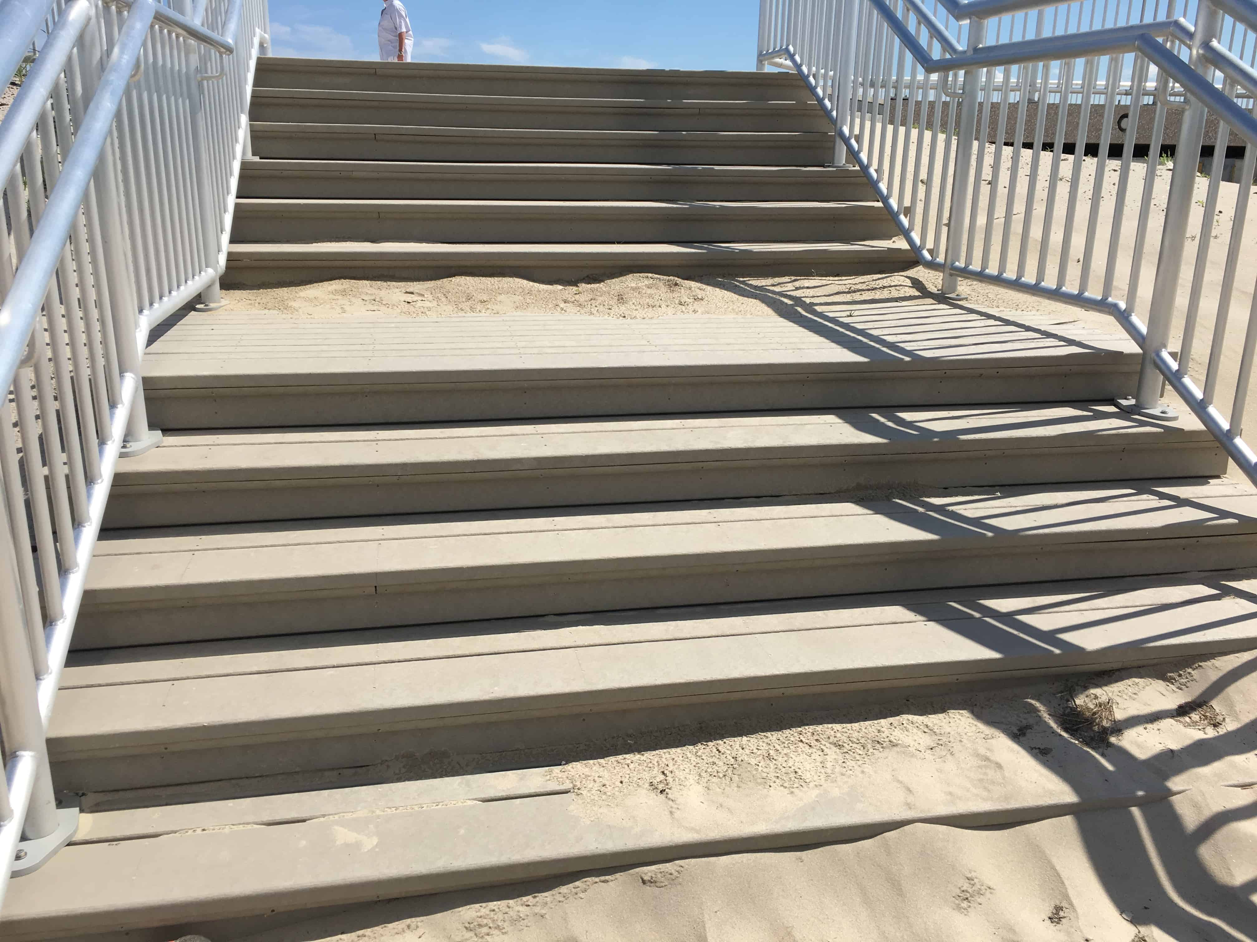 Why Not Stair Treads? – resurfaced with Recycled Plastic Lumber