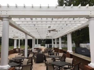 Indian Creek Yacht & Country Club Pergola - FiberForce® by Bedford Technology