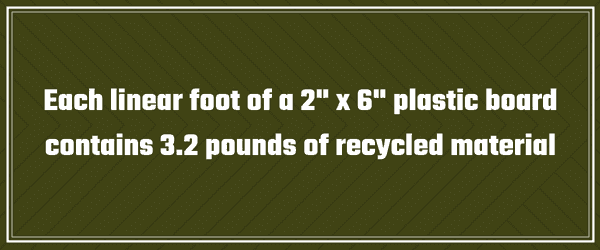 Recycled Material Fun Fact