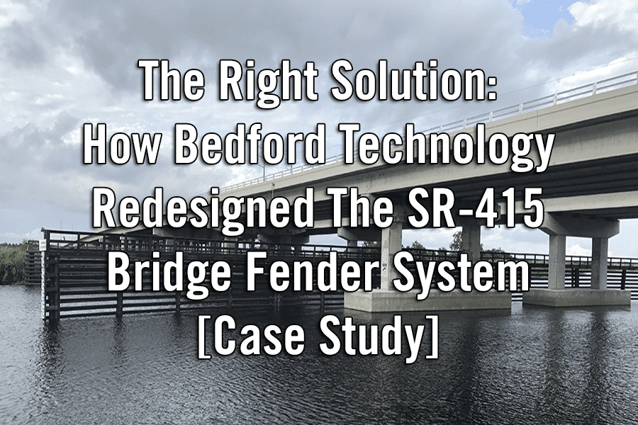SR-415 Bridge Fender System Case Study Image