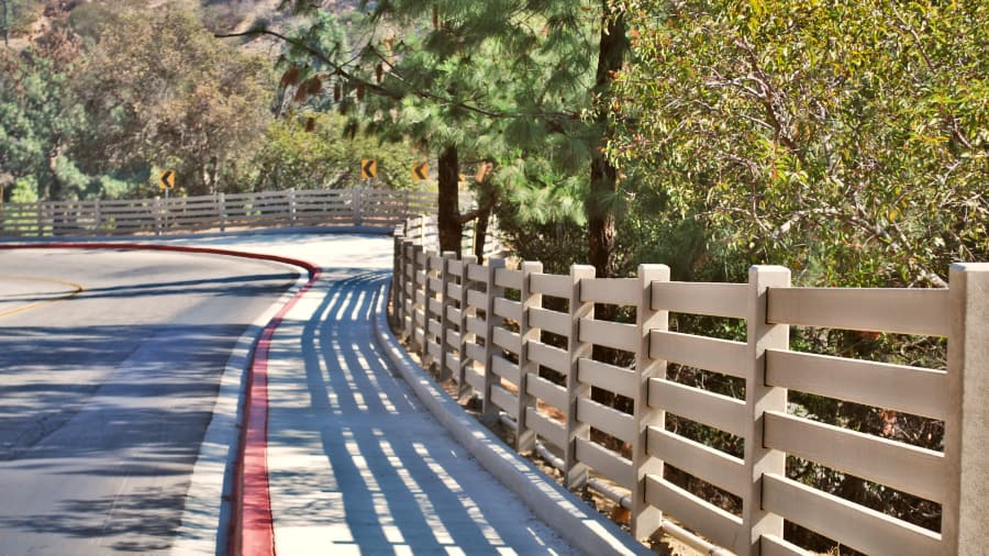 Griffith Park 5-Rail Fencing System image