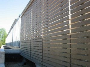 Recycled Plastic Lumber Fencing