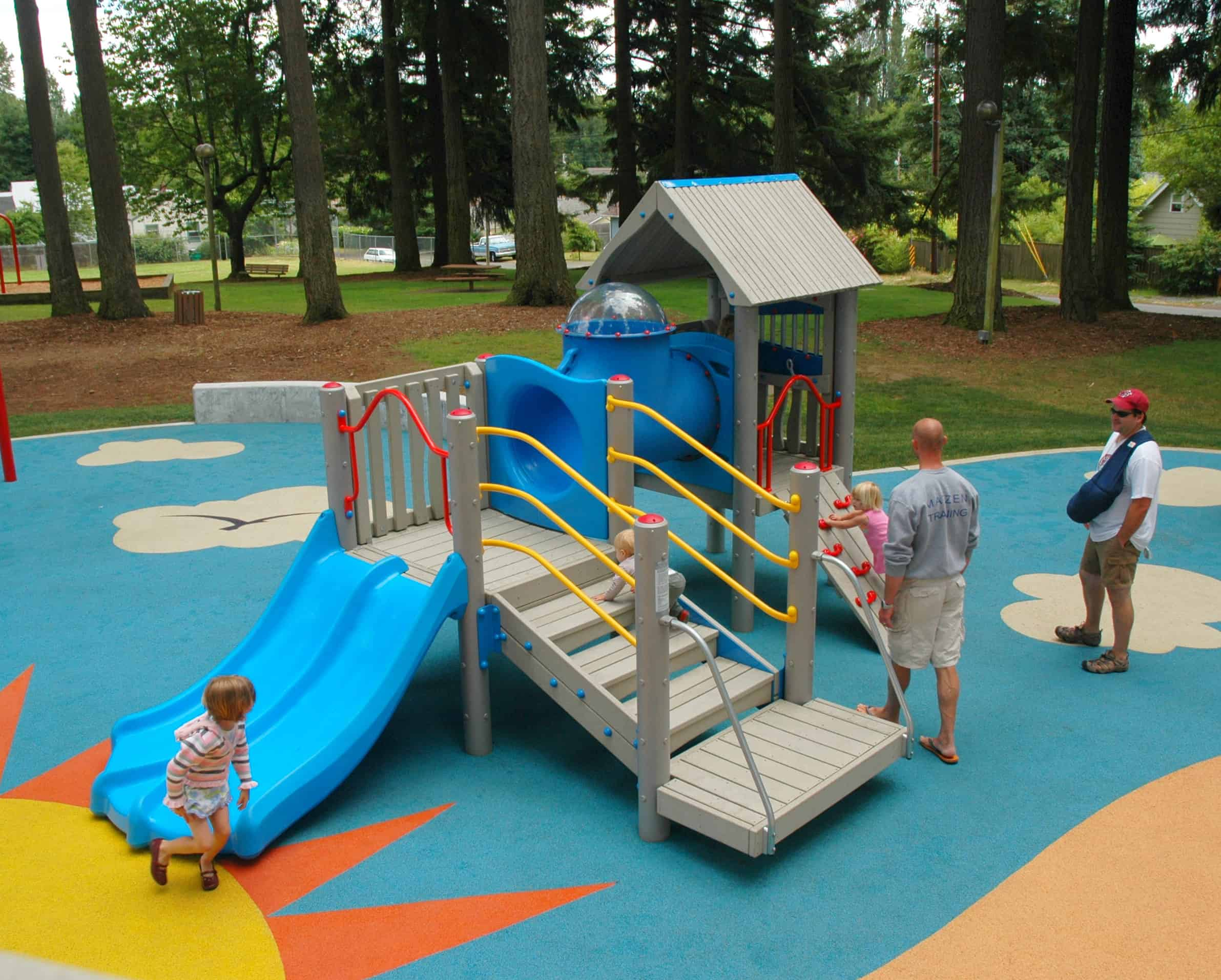 Low Maintenance Playground Equipment Is a Great Option!