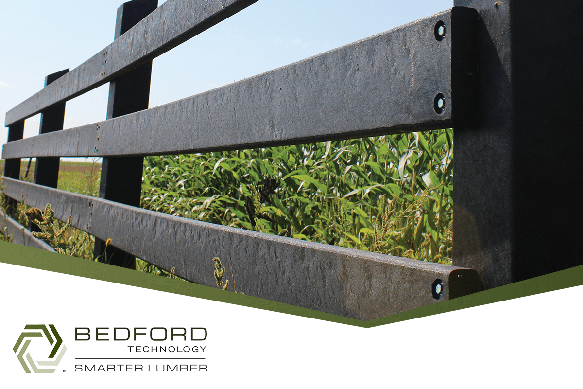 Forge Flawless Fencing with Bedford Technology's Recycled Plastic Lumber